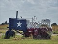 Image for Texas State Flag Tractor - Knox City, TX