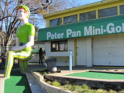 Peter Pan Mini Golf Austin Tx Roadside Attractions On