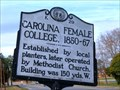 Image for K-29 CAROLINA FEMALE COLLEGE, 1850-67