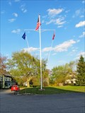 Image for Bristol Fire & Rescue Flagpole - New Harbor, ME