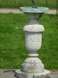 Image for Sundial, Formal Gardens, Shugborough Estate, Staffordshire, England