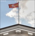 Image for Vilnius - municipal flags on the Town Hall (Vilnius - Lithuania)