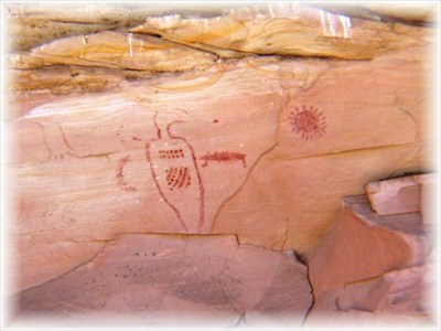 Fremont Indian style Rock Art
