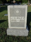Image for J.H. Riley - Furneaux Cemetery - Carrollton, TX