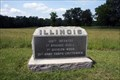 Image for 100th Illinois Infantry Regiment Marker  - Chickamauga National Battlefield