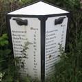 Image for Cast-Iron Waymarker Milestone - Arncroach, Fife.