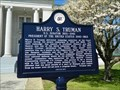 Image for Harry S. Truman - New Madrid, Missouri