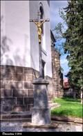 Image for Cross at the Church of St. Gotthard / Kríž u kostela Sv. Gotharda - Ceský  Brod (Central Bohemia)