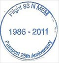 Image for Flight 93 NM Passport 25th Anniversary 1986-2011 - Shanksville, PA