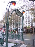 Image for Bouche d'Entrée Guimard Station de Métro Bastille - Paris, France