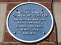 Image for Ancient Parish Church of St Peter - East Street, Wareham, Dorset, UK