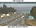 Image for I-90 at Geiger Road Webcam - Spokane, WA