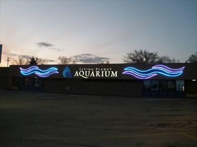 Living Planet Aquarium Sandy Ut Usa Neon Signs On