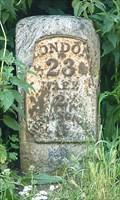 Image for Milestone - Ermine Street / High Road, Wadesmill, Hertfordshire, UK.