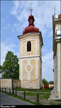 Image for Belfry at the Church of St. Paul's Conversion / Zvonice u kostela Obrácení sv. Pavla - Brandýs nad Labem (Central Bohemia)