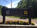 Image for Waterloo Village, New Jersey