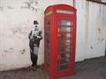 Image for Edward Elgar Graffiti Next to Telephone box in Malvern, Worcestershire