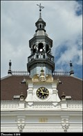 Image for Clock of Valtice Town Hall / Hodiny na Valticke radnici - Valtice (South Moravia)