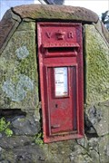 Image for Victorian Post Box, Crow Road near Fintry, Stirling, Scotland.