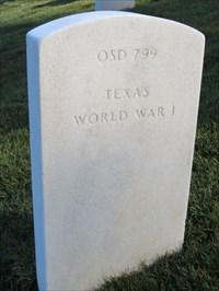 George Matthew Shelton, Sr, Backside, San Francisco National Cemetery