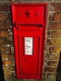 Image for Victorian Wall Post Box - Cramhurst, near Godalming, Surrey, UK