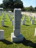 Image for Louis M.  Kirschenhofer - San Antonio National Cemetery - San Antonio, Tx.