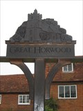 Image for Great Horwood Village Sign - Bucks