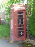 Image for Red Telephone Box, Hallow, Worcestershire, England