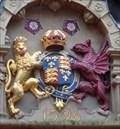 Image for Queen Elizabeth I - Coat of Arms - Shrewsbury, Shropshire, UK.[