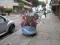 Image for Light Blue Mosaic Planter - Oakland, CA