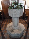 Image for Baptism Font, St. Mary's -Thornham Parva, Suffolk