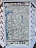 """Image for Toledo Memorial Park and Mausoleum """"You are here"""" Sign"""