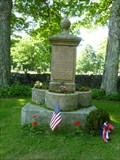 Image for Civil War Monument and Former Fountain - Ashfield, MA