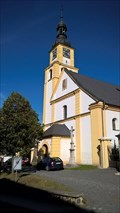 Image for Clocks at Church St. Peter and Paul in Hradec nad Moravicí, Czech Republic