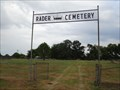 Image for Rader Cemetery - Kaufman County, TX