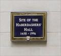 Image for Site of Haberdasher's Hall -- Gresham Street, City of Londion, UK