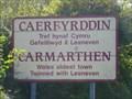 Image for Caerfyrddin - YN GYMRAEG edition - Wales.