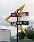 Image for 'Vic' Suhling' 'Gas For Less' - Roadside Attraction - Litchfield, Illinoise, USA.