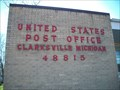 Image for U.S. Post Office Clarksville Mi. 48815