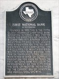 Image for First National Bank of Weatherford