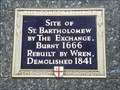 Image for St Bartholomew by the Exchange - Threadneedle Street, London, UK