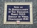 Image for St Bartholomew by the Exchange - Threadneedle Street, London, UK