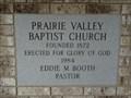 Image for 1984 - Prairie Valley Baptist Church - Prairie Valley, TX
