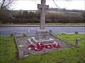 Image for Bickleigh War Memorial, Near Plymouth, Devon, UK