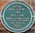 Image for Jessie Mathews - Berwick Street, Soho, London, UK