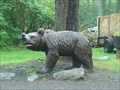 Image for Bear Statue - Rock City Park - Olean, NY