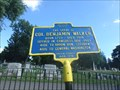 Image for The Grave of Col. Benjamin Walker - Utica, NY