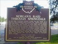 Image for Morgan's Raid through Springdale, #71-31