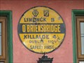 Image for O'Briensbridge Automobile Association Sign - O'Briensbridge, County Clare, Ireland