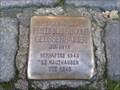 Image for Stolperstein Friedrich Rudolf Geussenhainer - Neumünster, Germany